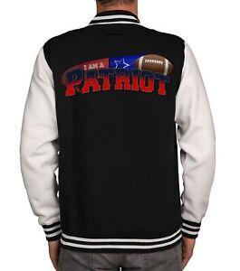 Herren College Jacken Kollektion - I am a Patriot und viele mehr - Football Fan