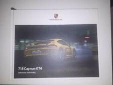 RAR VIP Hardcover Prospekt brochure Porsche 718 Cayman GT4 2019