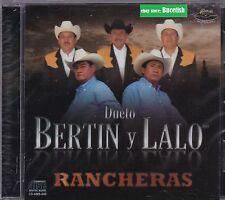 Bertin y Lalo Rancheras CD nuevo sealed