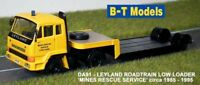 Ley Roadtrain L/loader - Mines Rescue Service, Suitable 1/76 Oxford,
