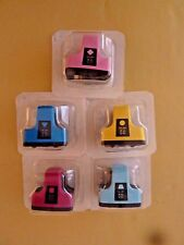 HP 02 Cyan, Magenta, Yellow, Light Cyan & Light Magenta Original Ink Cartridges,