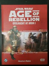 Star Wars Age of Rebellion- Onslaught At Arda I  NEW!