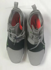 Nike Air Max Mens Trainer 1 Leather Sz 10 Grey Blk Whi A05376 002