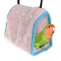 Warmer netter Vogel-Nest-Haus-Käfig für Papageienkeilschwanzsittich kleine Vögel