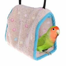Cute Warm Bird Nest House Hut Cage For Parrot Macaw Parakeet Small Birds