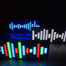 DIY  LED Digital Equalizer Musik Spektrum Sound Waves Kit Board 5V USB J1U4