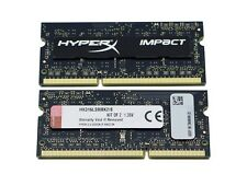 Brand New!!! Kingston HyperX 16GB (8GB x 2 pcs.) DDR3L-1600 204-Pin SODIMM Kit