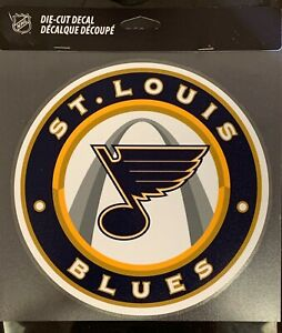 "St. Louis Blues Classic 8""x8"" Die Cut Decal NHL Logo Vibrant Sticker Decor NEW"
