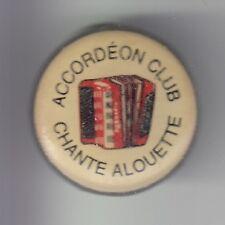 RARE PINS PIN'S .. MUSIQUE MUSIC ORCHESTRE ACORDEON ACCORDION CHANTE ALOUETTE~DF