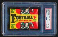 1959 Topps Football UNOPENED WAX PACK PSA 8