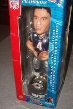 New England Patriots SuperBowl 38 Champions Ring Adam Vinatieri Bobblehead RARE