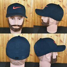 Nike Golf World Fitted Hat Small Stretch Nike Swoosh Logo Cap