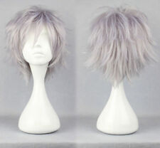 16 Colors New Fashion Short Straight Man Wig Cosplay Party Wigs Free Shipping #7