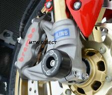 Honda CBR1000RR fireblade & SP 2008-2016 R&G RACING fork crash protectors black