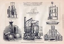 OLD 1876 PRINT THE LOAN COLLECTION SCIENTIFIC APPARATUS AT SOUTH KENSINGTON b24