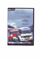 MERCEDES-BENZ TRUCK RACING - PC GAME - FAST POST - ORIGINAL & COMPLETE - VGC