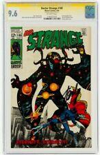 STAN LEE Signed 1969 DOCTOR STRANGE #180 * SS * Marvel Comics CGC 9.6 NM+ ONLY 1