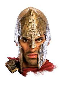 Adult 300 MOVIE Deluxe Spartan Costume Helmet Hat