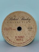 Burlap Wired Edge Ribbon 2.5in X 30ft New The Robert Stanley Collection