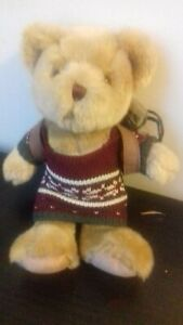 HANDMADE: HENRY THE HIKER The Teddy Bear Collection NEW. No package Rucksack etc