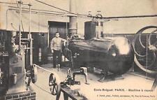 CPA 75 ECOLE BREGUET PARIS MACHINE A VAPEUR