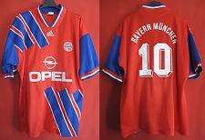 Maillot Adidas Fc Bayern Munchen Opel Matthaus n°10 Ancien - L