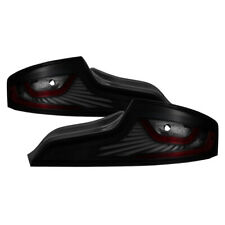 Fit Infiniti 03-05 G35 Skyline 2dr Coupe Black Smoke LED Tube Style Tail Lights