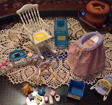 Barbie-Happy Family-Midge Nursery Play Set Replacement Parts-see Desc