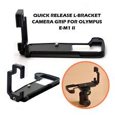 Hand Grip L Bracket For Olympus O-MD E-M1 II EM1 Mark II Quick Release Plate
