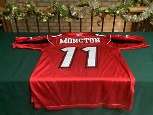 Vintage Reebok Calgary stampeders Moncton jersey size medium