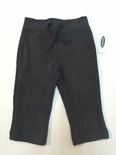 Old Navy Baby Boy Fall Winter Charcoal Velour Sweat Pants Size 12-18 Months New