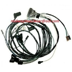 front end headlight lamp wiring harness   1970 70  Pontiac GTO