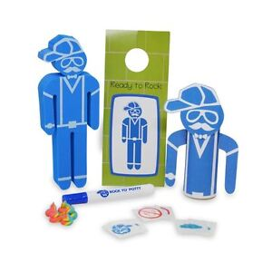 Potty Rocker The Family Play Kit Potty Toilet Training Book Activity Kit New