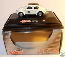 MICRO METAL DIE CAST SCHUCO HO 1/87 VW VOLKSWAGEN KÄFER N°53 CHOUPETTE COX BOX
