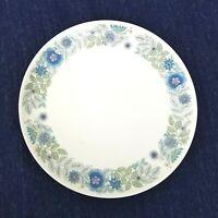 "wedgwood clementine bone china salad dishes 8"" Blue and Lavendar Flora England"