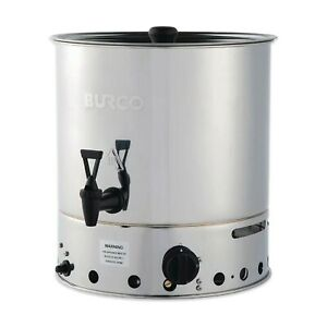 BURCO LP LPG PROPANE BOTTLE GAS HOT WATER BOILER MOBILE OUTDOOR CATERING TEA URN