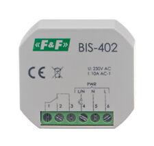F&F BIS-402 Bistabiles Relais Impulsrelais Stromstoßrelais Beleuchtung licht