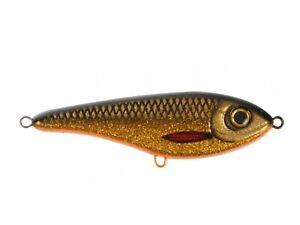 Strike Pro Buster Jerk Swim Bait 13cm, 65gr - Golden Roach