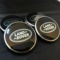 GENUINE LAND RANGE ROVER SPORT VOGUE BLACK ALLOY WHEEL CENTRE CAPS DISCOVERY 3,4