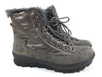 LEGERO Winter Stiefel Leder Schuhe warm GORE TEX Gr. 42 UK 8 grau NEU