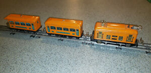 Classic Lionel Pre War Set 248 Engine with 629 and 630 Pullmans 1927-32 Runs!