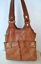 Marc by Marc Jacobs Genuine Italian Leather Designer Handbag Shoulder Bag Large