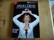 Usato - Libro LA WEB DE DIOS, - CARATTERE DI ANGELO