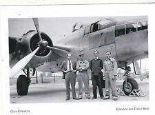 "*Postcard-""B-25/Airplane at Muroc, 1943 w/Pilot Glen Edwards""*Edwards AFB (#111)"