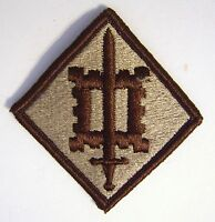 18th ENGINEERING BRIGADE PATCH SSI U.S. ARMY - DESERT TAN COLOR:FA12-1