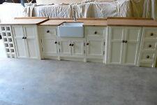 LARGE FREESTANDING BELFAST SINK/APPLIANCE UNIT from olive branch kitchens ltd.