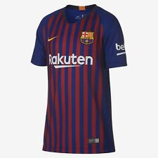 dc86c0c370a Nike Barcelona 2018/19 Short Sleeve Youth Sz XL Home Jersey 894458-456