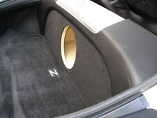 """ZEnclosures 1-10"""" Subwoofer Sub Box w/Amp Area/Rack for the Nissan 350z Coupe"""