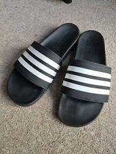Adidas Adilette Comfort Slider Slides Black Uk 11 Us 12 Eu 45 Sandal Flip Flop