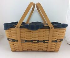 Longaberger Collector's Club Family Picnic Basket Combo